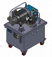 機床夾具專用液壓系統