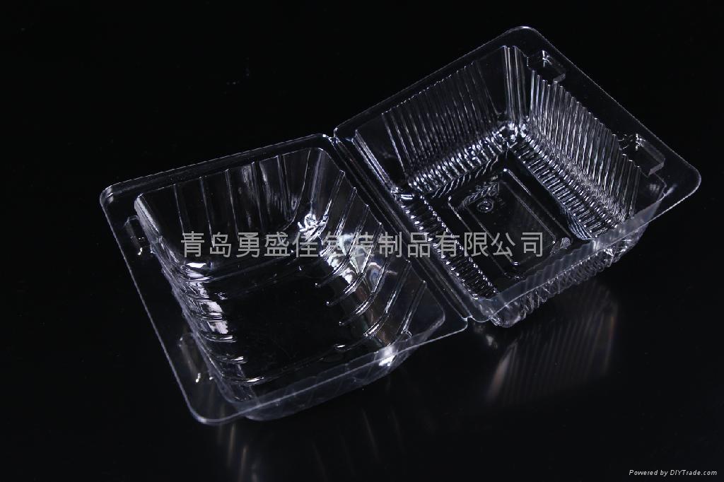 一次性吸塑包装盒透明盒食品包装盒  1