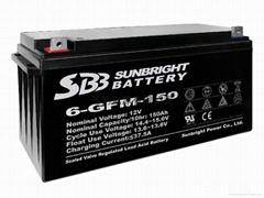 太陽能用膠體蓄電池