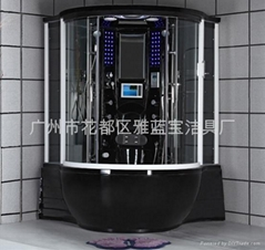 shower cabin bathroom steam shower room combo with bathtub two person