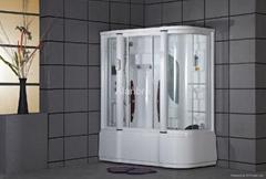 steam shower room combo