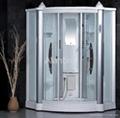 acrylic glass steam shower room bathroom
