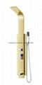 shower panel shower head  shower set G2018A-D-WS for steam shower room 1
