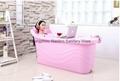 indoor portable bathtub food grade PP5 material plastic bathtub for adult 2