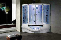Steam shower room with massage bathtub  G160 ETL CE approvelled