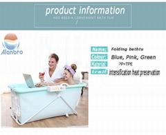 Newborns Foldable PP Plastic Portable movable Cheap bathtub PP9