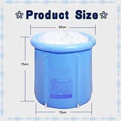 Plastic tub Portable bathtub Freestanding Folding Adult Bath Tub