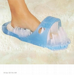 Feet Cleaner,Magic Foot Scrubber,Feet Shower  Foot Massager  Easy Cleaning Brush