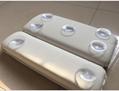 PVC foam sponge bathtub pillow  headrest sucker bath head pillow bath pillow  2