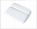 PVC foam sponge bathtub pillow  headrest sucker bath head pillow bath pillow  5