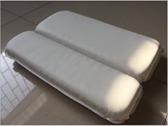 PVC foam sponge bathtub pillow  headrest sucker bath head pillow bath pillow