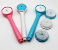 Multi Function Handheld Shower Head Shower Brush Scrubber Shower Brush 3