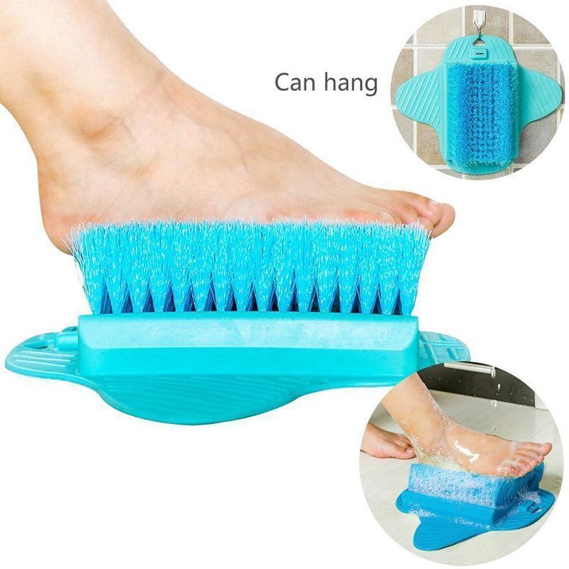 Feet Cleaner Feet Shower Spas Exfoliating Easy Cleaning Brush 2