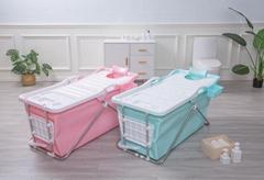 comfortable design Good quality foldable plastic Portable Bathtub for Adults