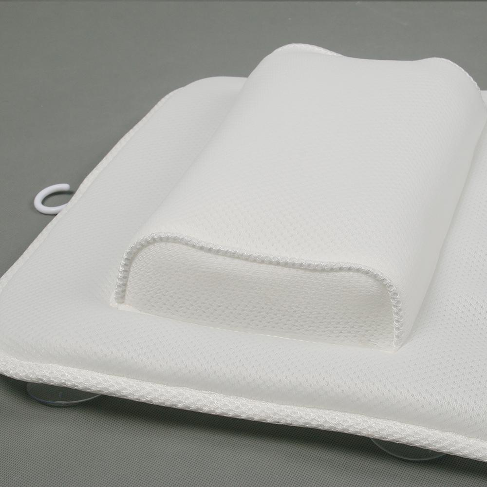 Soft and washable Massage cooling Bath pillow Headrest Pillow for Bathtub 4