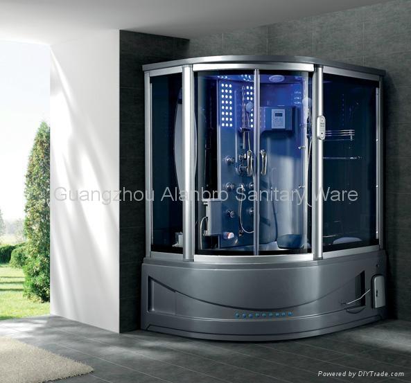 Steam Shower Room Combo With Sauna And Spa Bathtub G165i