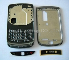 Original Black Full Housing For Blackberry 9800