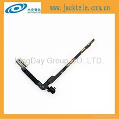 For New iPad 3 WiFi Audio Jack Flex Cable Ribbon part