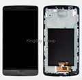 D855 LCD Screen and Digitizer Assembly With Front Housing Original Gray