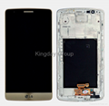 D855 LCD Screen and Digitizer Assembly With Front Housing Original Gold