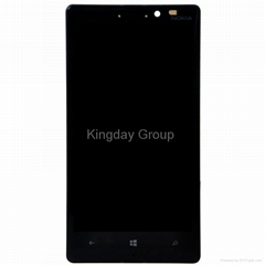 Nokia Lumia 930 LCD Display and Touch Screen Digitizer Assembly Black