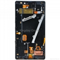 Nokia Lumia 930 LCD Display and Touch Screen Digitizer Assembly with Frame Black 2