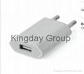 Apple iPhone 5 5C 5S 6 6 Plus USB Power Adapter EU Plug
