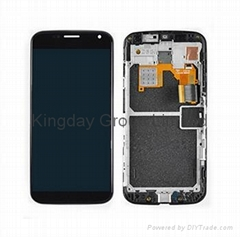Motorola Moto X LCD Display Touch Screen Digitizer Assembly with Middle Frame