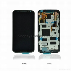 Motorola Moto X2 XT1092 XT1096 LCD Screen and Digitizer Assembly with Frame