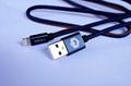Denim Fabric iPhone Lightning USB Cable for iPhone 6 6S 6 Plus 7 Plus