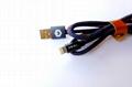 Denim Fabric iPhone Lightning USB Cable for iPhone 6 6S 6 Plus 7 Plus 3