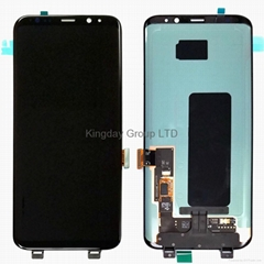 For Samsung Galaxy S8 Plus LCD Display Touch Screen Digitizer Assembly Black