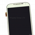 For Samsung Galaxy S4 i337 M919 LCD Screen and Digitizer Assembly with Frame OEM 6