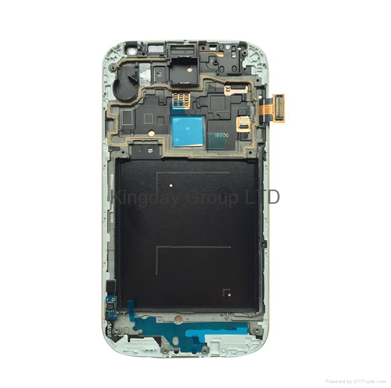 For Samsung Galaxy S4 i337 M919 LCD Screen and Digitizer Assembly with Frame OEM 2