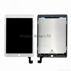Original iPad Air 2 LCD Screen and Digitizer Assembly White