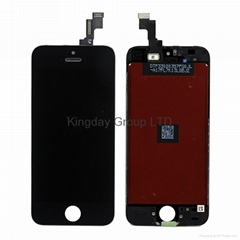 For iPhone 5S LCD Display and Touch Screen Digitizer Assembly Black Original
