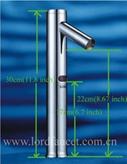 High Automatic Faucet for Above Counter Basin