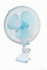 Mini clip electric fan