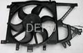 12V auto radiator Fan for OPEL