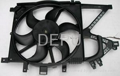 12V auto radiator Fan for OPEL