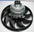 12V Automotive cooling Fan for VW