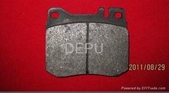 Non-asbestos brake pad D145 for BENZ