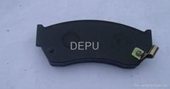 semi-metal car brake pad