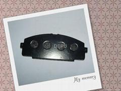 Auto brake pad for TOYOTA