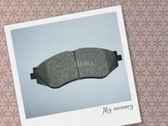 Asbestos disc brake pad for DAEWOO