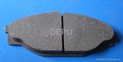 asbestos brake pad for