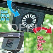 Solar-powered Auto Ventilator