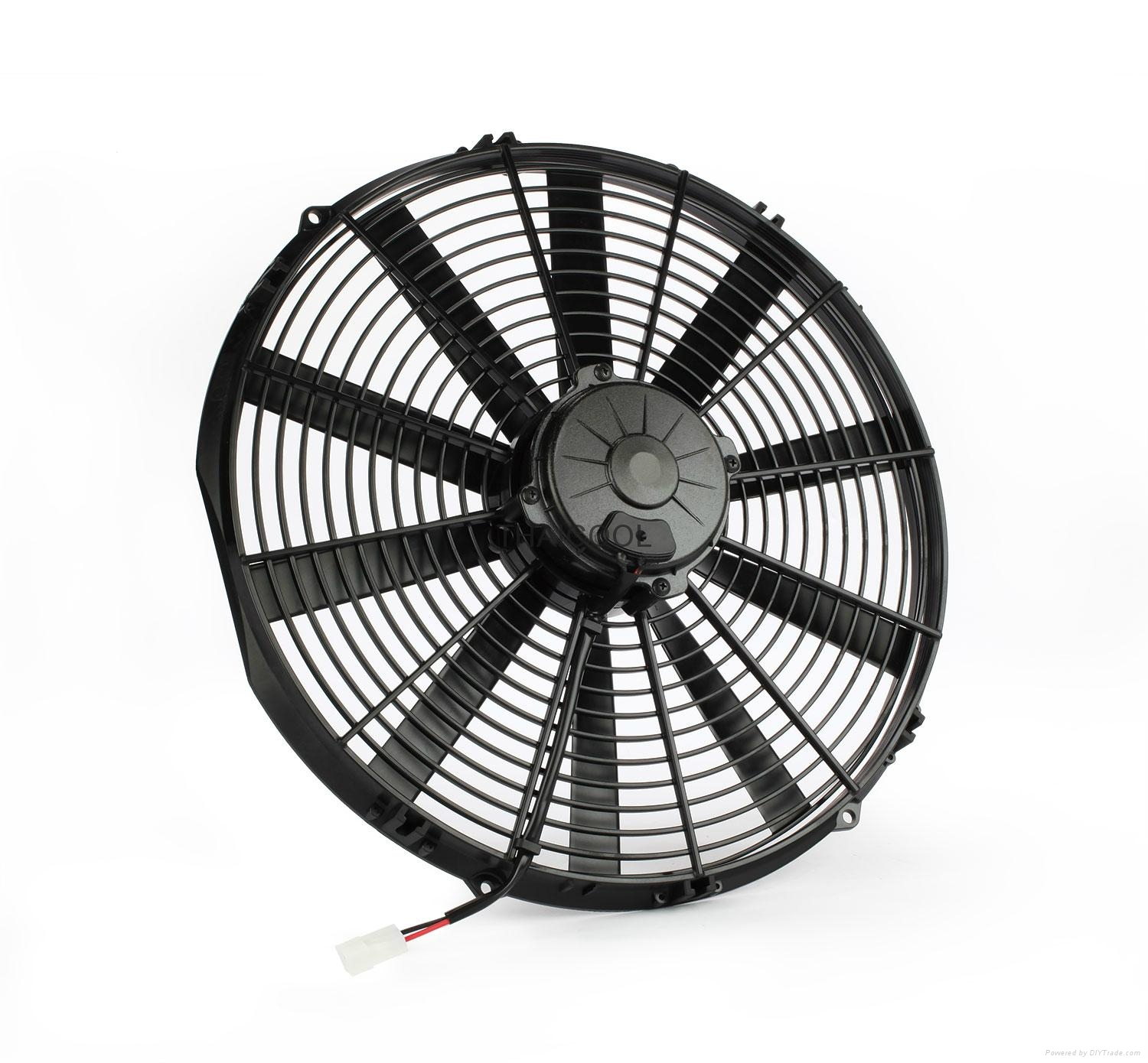 """16"""" AXIAL FANS- 10 straight  blade C1-24X 1"""