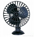 "5"" Mini Suction Car Fan 12V / 24V"