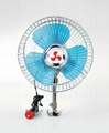 "6"" mini oscillating car fan"